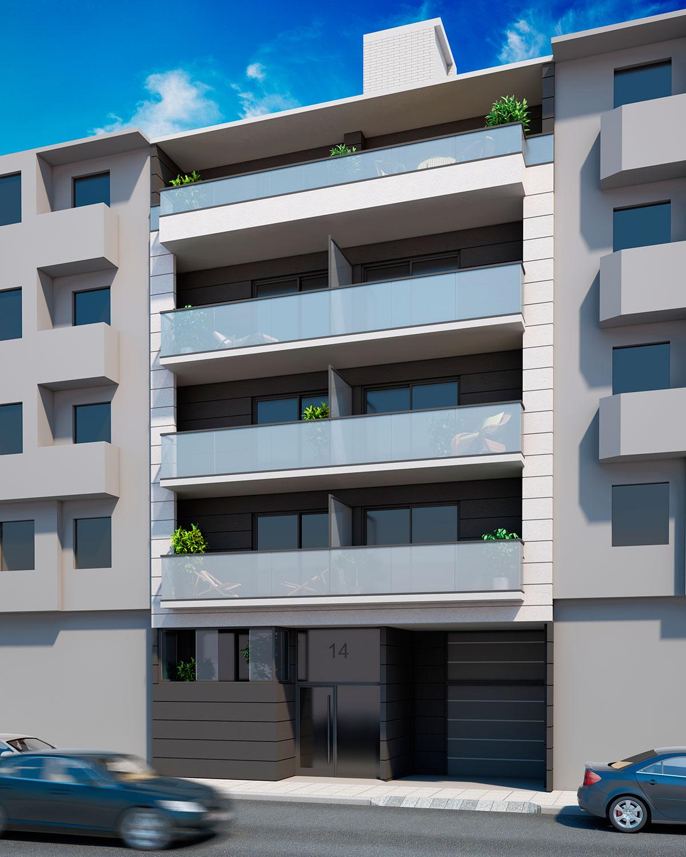 Edificio de 8 Viviendas. Zaragoza
