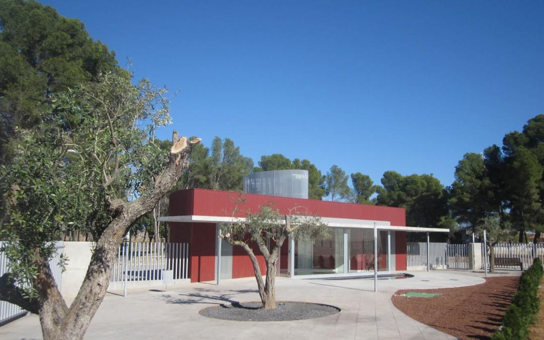 Tanatorio Municipal. Escatrón (Zaragoza)