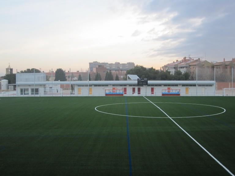 """Campos Municipales de Futbol. """"Delicias"""". Zaragoza"""