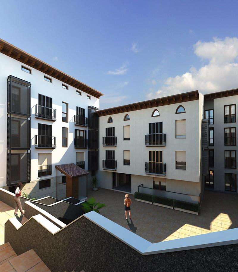Conjunto Edificios Calatayud_Patio 1 copy