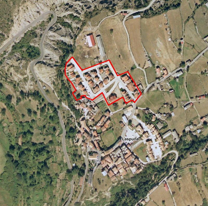 Estudio de Detalle, Reparcelación y Proyecto de Compensación UE-1 y UE-6, Laspuña (Huesca)