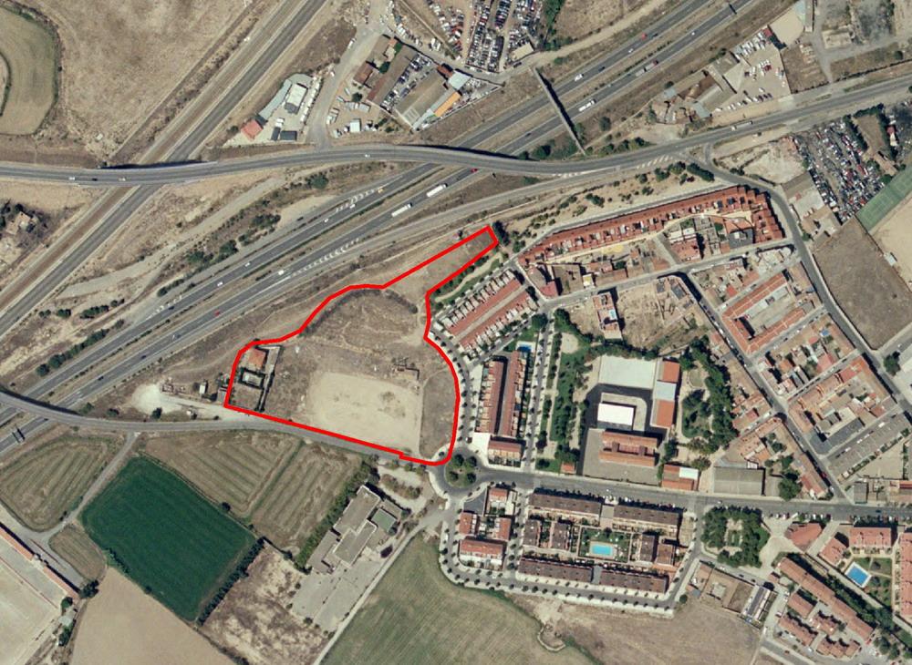 Plan Especial, Reparcelación y Urbanización Area de Intervención F-56-01 (Zaragoza)