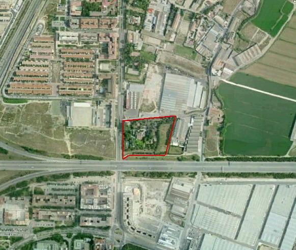 Plan Especial y Reparcelación Area de Intervención F-83-03 (Zaragoza)