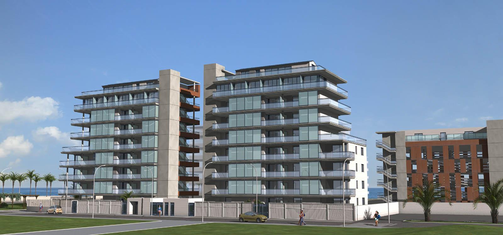 Edificio 68 Apartamentos. Peñiscola (Castellón)